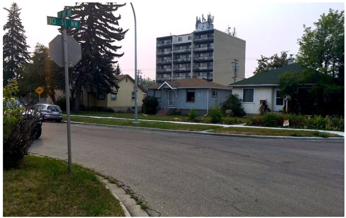 17 Ave Land Assembly - Street View